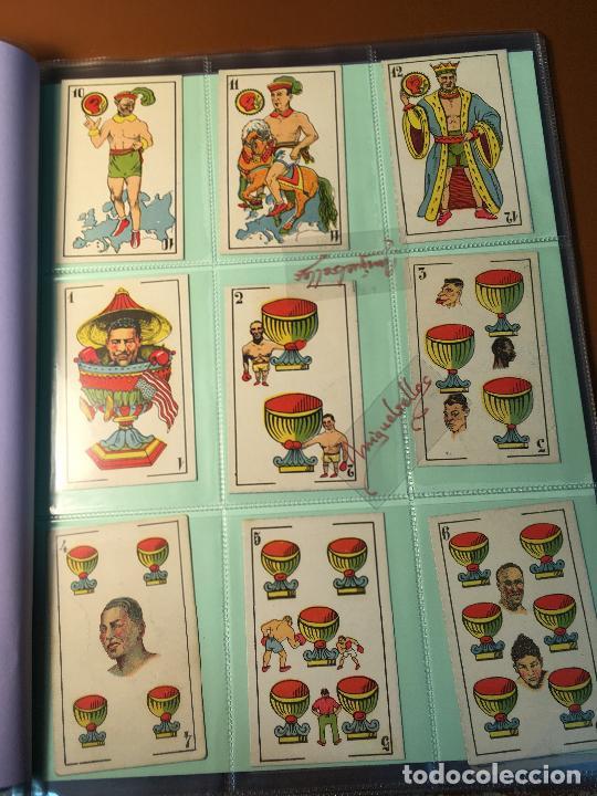 Barajas de cartas: LA BOXE , BARAJA CARTAS BOXEO , 48 CROMOS 6,X 9,5 cm . COMPLETA SIN PUBLICIDAD - Foto 3 - 241200775