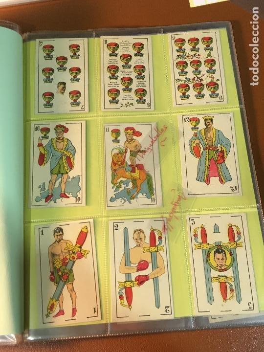 Barajas de cartas: LA BOXE , BARAJA CARTAS BOXEO , 48 CROMOS 6,X 9,5 cm . COMPLETA SIN PUBLICIDAD - Foto 4 - 241200775