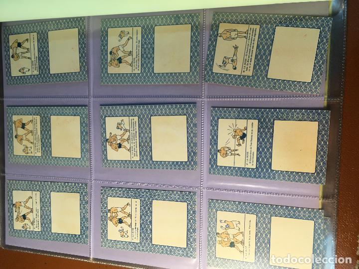 Barajas de cartas: LA BOXE , BARAJA CARTAS BOXEO , 48 CROMOS 6,X 9,5 cm . COMPLETA SIN PUBLICIDAD - Foto 21 - 241200775