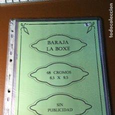 Barajas de cartas: LA BOXE , BARAJA CARTAS BOXEO , 48 CROMOS 6,X 9,5 CM . COMPLETA SIN PUBLICIDAD. Lote 241200775