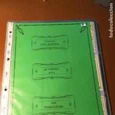 Barajas de cartas: CINE MANUAL , BARAJA DE CARTAS 48 CROMOS 5 X 9 CM COMPLETA SIN PUBLICIDAD. Lote 241251760