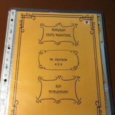 Barajas de cartas: CINE MANUAL , BARAJA DE CARTAS 48 CROMOS 5 X 9 CM COMPLETA SIN PUBLICIDAD. Lote 241257040