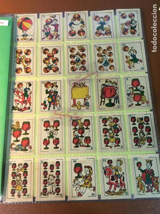 Barajas de cartas: BARAJA DE NIÑOS . NAIPES/ CARTAS 50 CROMOS 4,5 X 6,5 cm COMPLETA .NO VISTA - Foto 2 - 241262335