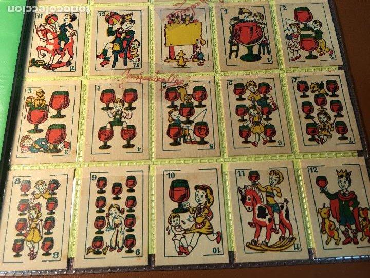 Barajas de cartas: BARAJA DE NIÑOS . NAIPES/ CARTAS 50 CROMOS 4,5 X 6,5 cm COMPLETA .NO VISTA - Foto 5 - 241262335