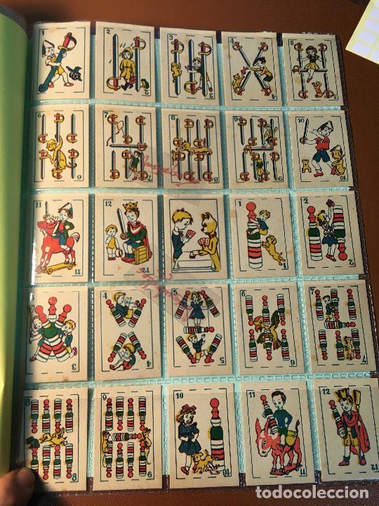 Barajas de cartas: BARAJA DE NIÑOS . NAIPES/ CARTAS 50 CROMOS 4,5 X 6,5 cm COMPLETA .NO VISTA - Foto 3 - 241262335