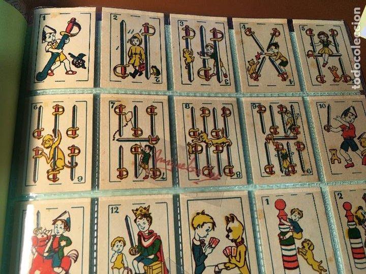 Barajas de cartas: BARAJA DE NIÑOS . NAIPES/ CARTAS 50 CROMOS 4,5 X 6,5 cm COMPLETA .NO VISTA - Foto 9 - 241262335