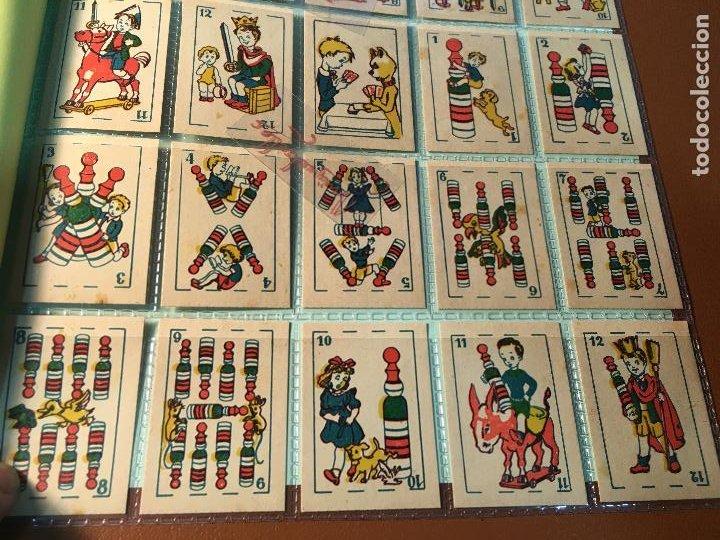 Barajas de cartas: BARAJA DE NIÑOS . NAIPES/ CARTAS 50 CROMOS 4,5 X 6,5 cm COMPLETA .NO VISTA - Foto 10 - 241262335
