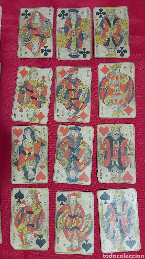 Barajas de cartas: BARAJA DE CARTAS FRANCESA S.XIX. REPUBLIQUE FRANÇAISE. DECRET DU 12 AVRIL 1890 - Foto 2 - 241265755