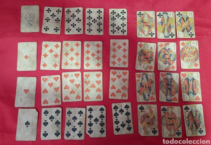 Barajas de cartas: BARAJA DE CARTAS FRANCESA S.XIX. REPUBLIQUE FRANÇAISE. DECRET DU 12 AVRIL 1890 - Foto 3 - 241265755
