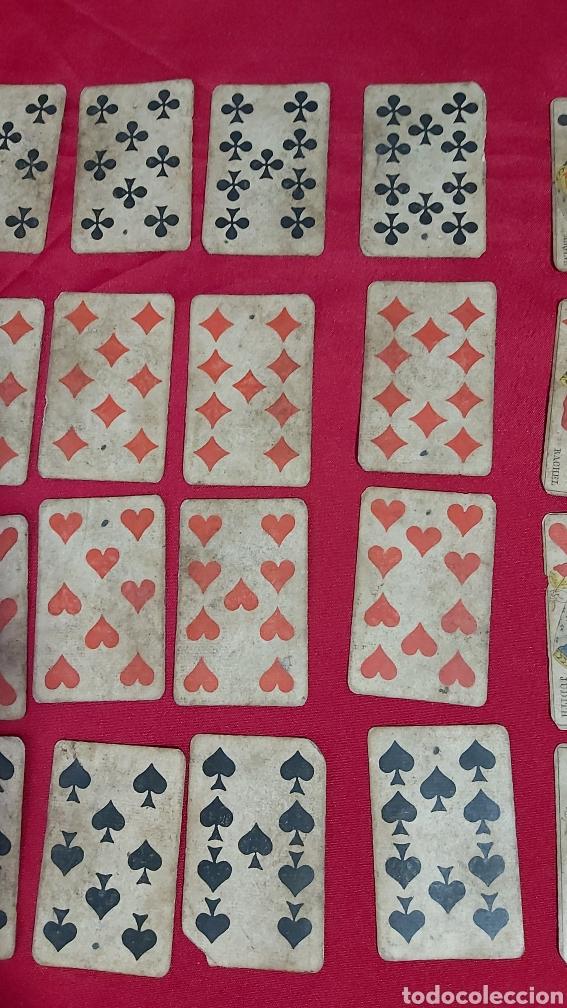 Barajas de cartas: BARAJA DE CARTAS FRANCESA S.XIX. REPUBLIQUE FRANÇAISE. DECRET DU 12 AVRIL 1890 - Foto 5 - 241265755