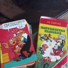Barajas de cartas: BARAJA DE CARTAS HISTORIETAS FAMOSAS IBAÑEZ DE FOURNIER 32 CARTAS REF. UR EST. Lote 241365680