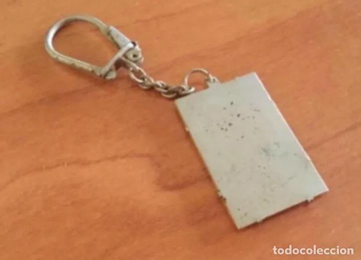 Barajas de cartas: Antigua Propaganda Llavero As de Oros de Heraclio Fournier - Foto 2 - 241392975
