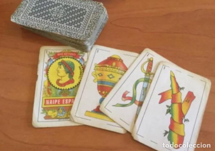 BARAJA DE NAIPE ESPAÑOL. MAS REYNALS 40 CARTAS (Juguetes y Juegos - Cartas y Naipes - Baraja Española)