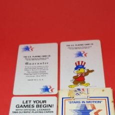 Barajas de cartas: THE U.S.PLAYING CARD CO. FOR THE OLYMPIC GAMES 1984. Lote 241771920