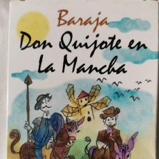 Barajas de cartas: BARAJA DON QUIJOTE DE LA MANCHA, DIBUJOS DE MUNOA. Lote 242124555