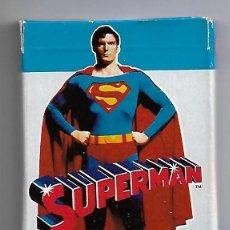 Barajas de cartas: BARAJA DE SUPERMAN, FOURNIER 1979 SIN USO -LEER DESCRIPCION Y VER FOTOS. Lote 242155950