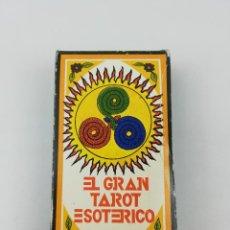 Baralhos de cartas: EL GRAN TAROT ESOTERICO 78 CARTAS FOURNIER AÑOS 70. Lote 242204720