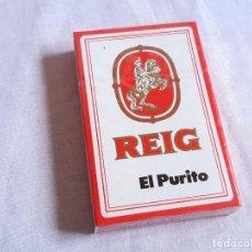 Barajas de cartas: BARAJA PUBLICITARIA DE REIG. EL PURITO. FOURNIER. SIN ESTRENAR.. Lote 242881090