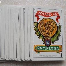 Baralhos de cartas: BARAJA NAIPES FOURNIER MUTUA SEGUROS PAMPLONA - BALDA. Lote 242979475