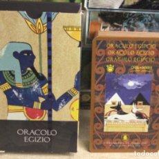 Baralhos de cartas: BARAJA TAROT - ORACULO EGIPCIO - EDICIONES ÓRBIS FABBRI RBA - 2002 -REF,5. Lote 243084140