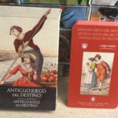 Baralhos de cartas: BARAJA TAROT - ANTIGUO JUEGO DEL DESTINO - EDICIONES ÓRBIS FABBRI RBA - 2002 -REF,6. Lote 243085285