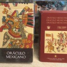 Baralhos de cartas: BARAJA TAROT - ORÁCULO MEXICANO - EDICIONES ÓRBIS FABBRI RBA - 2002 -REF,8. Lote 243086670