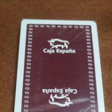 Barajas de cartas: BARAJA DE CARTAS ESPAÑOLAS HERACLIO FOURNIER PUBLICIDAD CAJA ESPAÑA NUEVA Y PRECINTADA. Lote 243089150