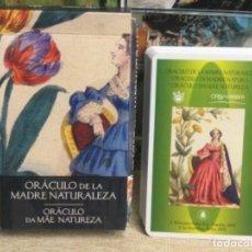 Baralhos de cartas: BARAJA TAROT - ORÁCULO DE LA MADRE NATURALEZA - EDICIONES ÓRBIS FABBRI RBA - 2002 -REF,12. Lote 243089455