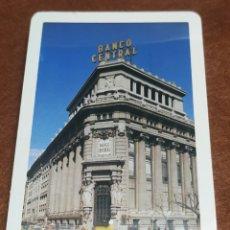 Barajas de cartas: BARAJA DE CARTAS ESPAÑOLAS HERACLIO FOURNIER PUBLICIDAD BANCO CENTRAL NUEVA Y PRECINTADA. Lote 243089860
