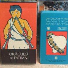 Baralhos de cartas: BARAJA TAROT - ORÁCULO DE FATIMA - EDICIONES ÓRBIS FABBRI RBA - 2002 -REF,15. Lote 243092045