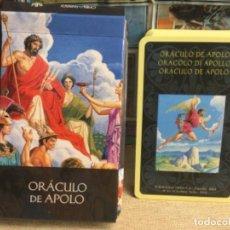 Baralhos de cartas: BARAJA TAROT - ORÁCULO DE APOLO - EDICIONES ÓRBIS FABBRI RBA - 2002 -REF,23. Lote 243094905