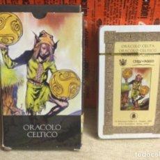 Baralhos de cartas: BARAJA TAROT - ORÁCULO CELTA - EDICIONES ÓRBIS FABBRI RBA - 2002 -REF,25. Lote 243097230