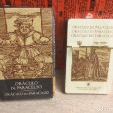Barajas de cartas: BARAJA TAROT - ORÁCULO DE PARACELSO - EDICIONES ÓRBIS FABBRI RBA - 2002 -REF,28. Lote 262941575