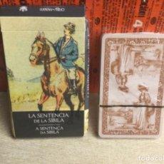 Baralhos de cartas: BARAJA TAROT - LA SENTENCIA DE SIBILA - EDICIONES ÓRBIS FABBRI RBA - 2002 -REF,29. Lote 243098585