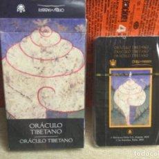 Baralhos de cartas: BARAJA TAROT - ORÁCULO TIBETANO - EDICIONES ÓRBIS FABBRI RBA - 2002 -REF,36. Lote 243100000