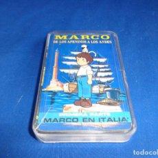 Barajas de cartas: JUEGO DE CARTAS - MARCO DE LOS APENINOS A LOS ANDES PRIMERA PARTE AÑO 1976! SM. Lote 243205925