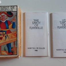 Barajas de cartas: BARAJA TAROT FOURNIER MARSELLA - 1983. Lote 243390450