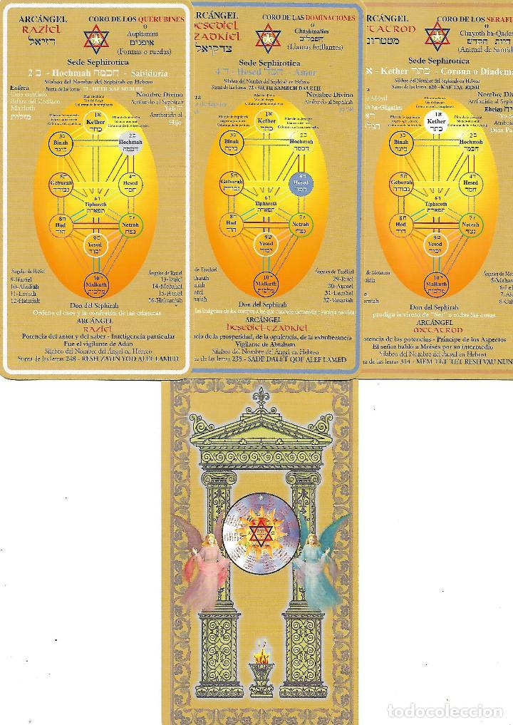 Barajas de cartas: MUY RARA BARAJA DE TAROT DE SIGNOS DEL ZODIACO TRES CARTAS DE TAURO REPARADAS PERO BIEN VER FOTOS - Foto 8 - 243447175