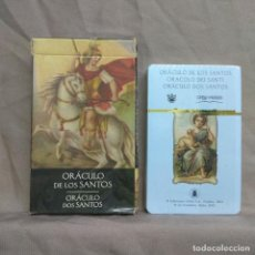 Barajas de cartas: ORACULO DE LOS SANTOS. CARTAS.. Lote 243827320