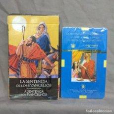 Barajas de cartas: LA SENTENCIA DE LOS EVANGELIOS. CARTAS ORACULO.. Lote 243827405