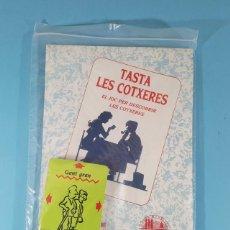 Barajas de cartas: JUEGO DE CARTAS TASTA LES COTXERES, AYUNTAMIENTO DE BARCELONA 1989, SIN DESPRECINTAR, EN CATALAN. Lote 243899450