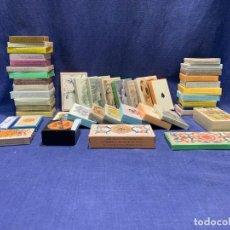 Barajas de cartas: COLECCION 46 BARAJAS NAIPES HISTORICOS MUSEO FOURNIER REEDICION VARIAS EPOCAS Y FORMAS. Lote 243945205