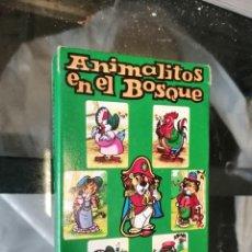 Barajas de cartas: BARAJA CARTAS ANIMALITOS EN EL BOSQUE SALDAÑA ORTEGA SIN ABRIR. Lote 244016465