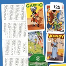 Barajas de cartas: PETER PAN FOURNIER LOTE 108 JUEGO 44 CARTAS DISNEY. Lote 244205315