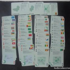 Barajas de cartas: BARAJA CARTAS AFRICA MAPSTUDIO. Lote 244410590