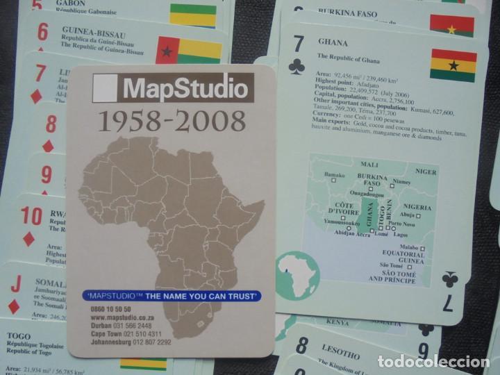 Barajas de cartas: Baraja cartas Africa MapStudio - Foto 2 - 244410590