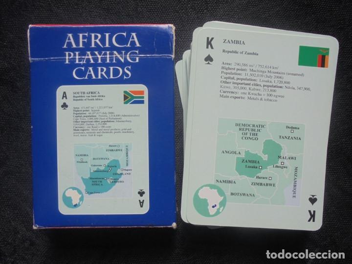 Barajas de cartas: Baraja cartas Africa MapStudio - Foto 3 - 244410590