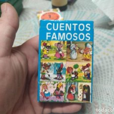 Barajas de cartas: BARAJA CUENTOS FAMOSOS MIREN FOTOS. Lote 244440395