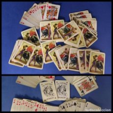 Barajas de cartas: BARAJA DE CARTAS POKER -NAIPES COMAS -TAUROMAQUIA -COMPLETA. Lote 244511045
