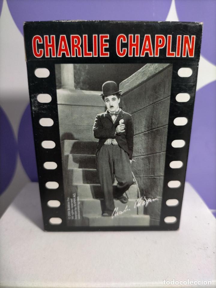 BARAJA CARATAS CHARLIE CHAPLIN CHARLOT PIATNIK 2005 SIN ABRIR, PRECINTADA. (Juguetes y Juegos - Cartas y Naipes - Otras Barajas)